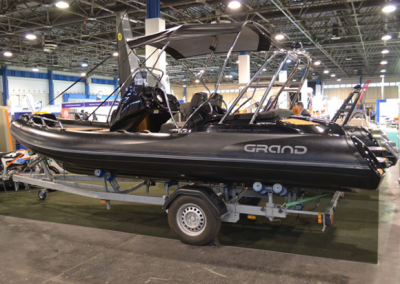 Grand Inflatable boat G580 black